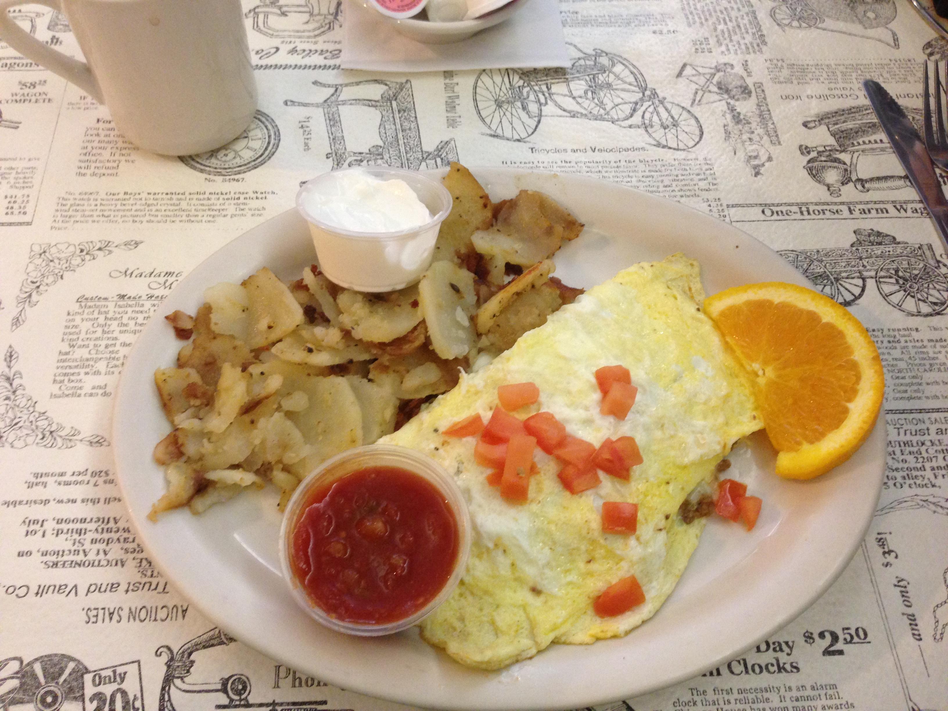 Breakfast at Red Rock in Hastings