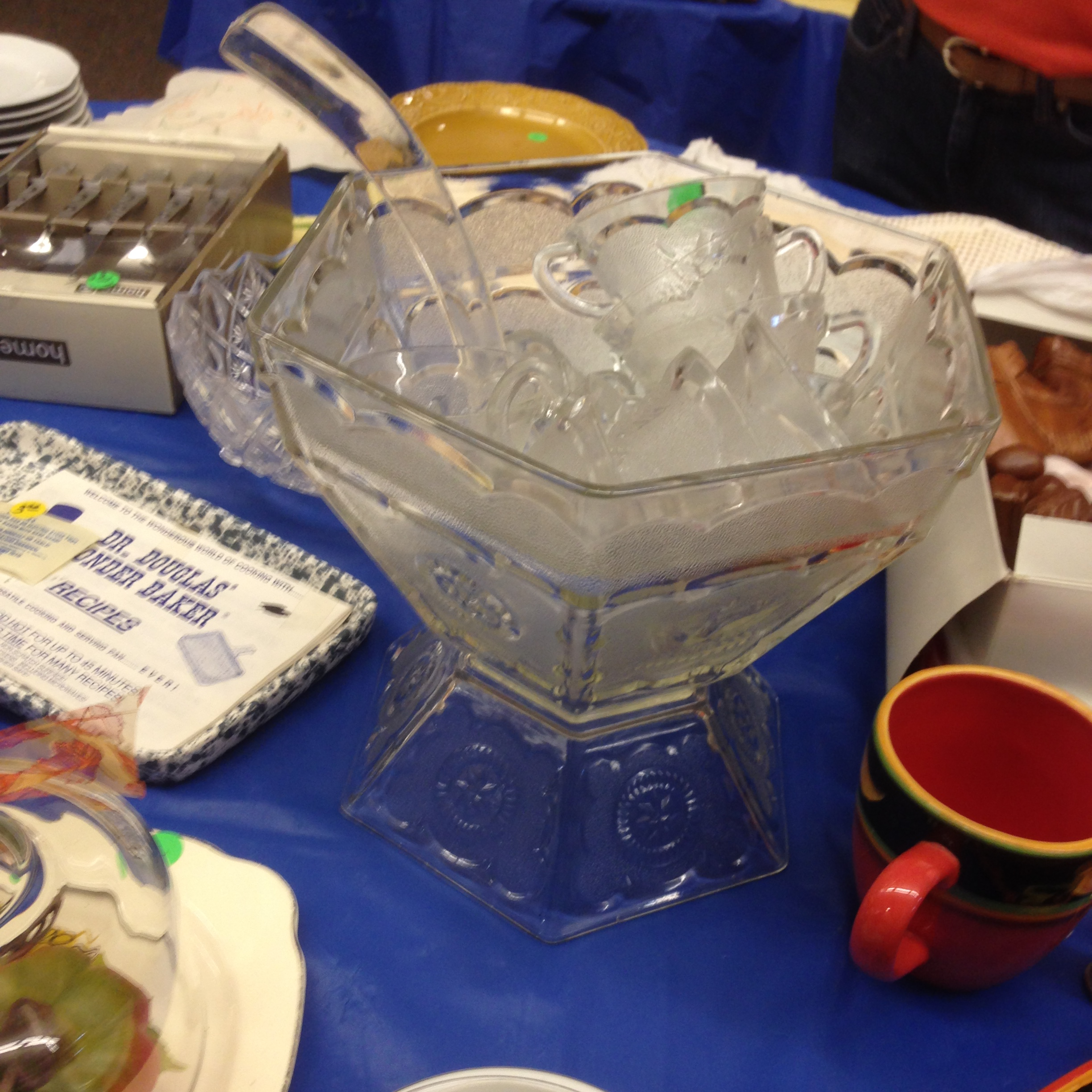 Mom's punch bowl