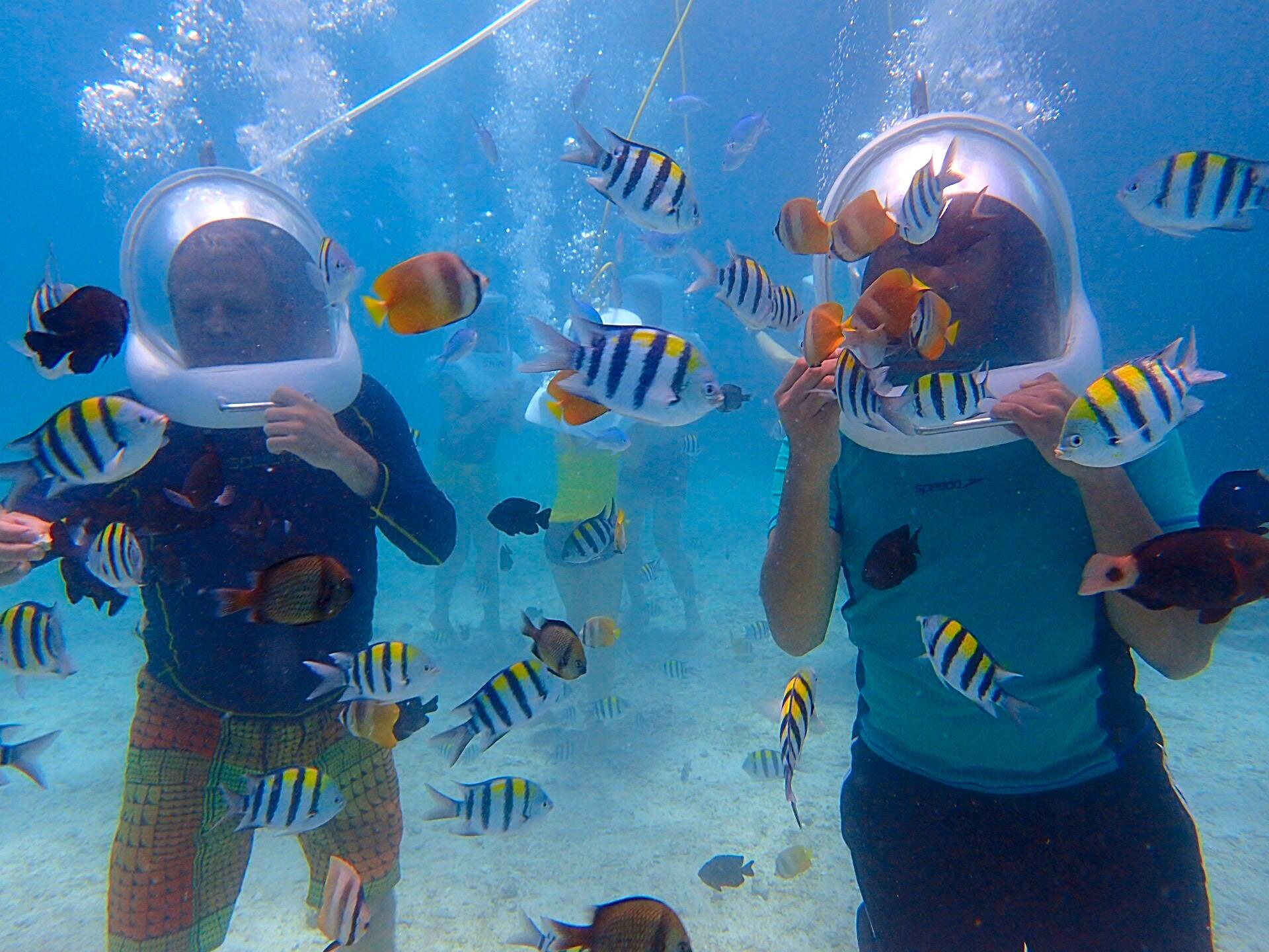 Helmet Diving In Boracay » R Scott Tyler