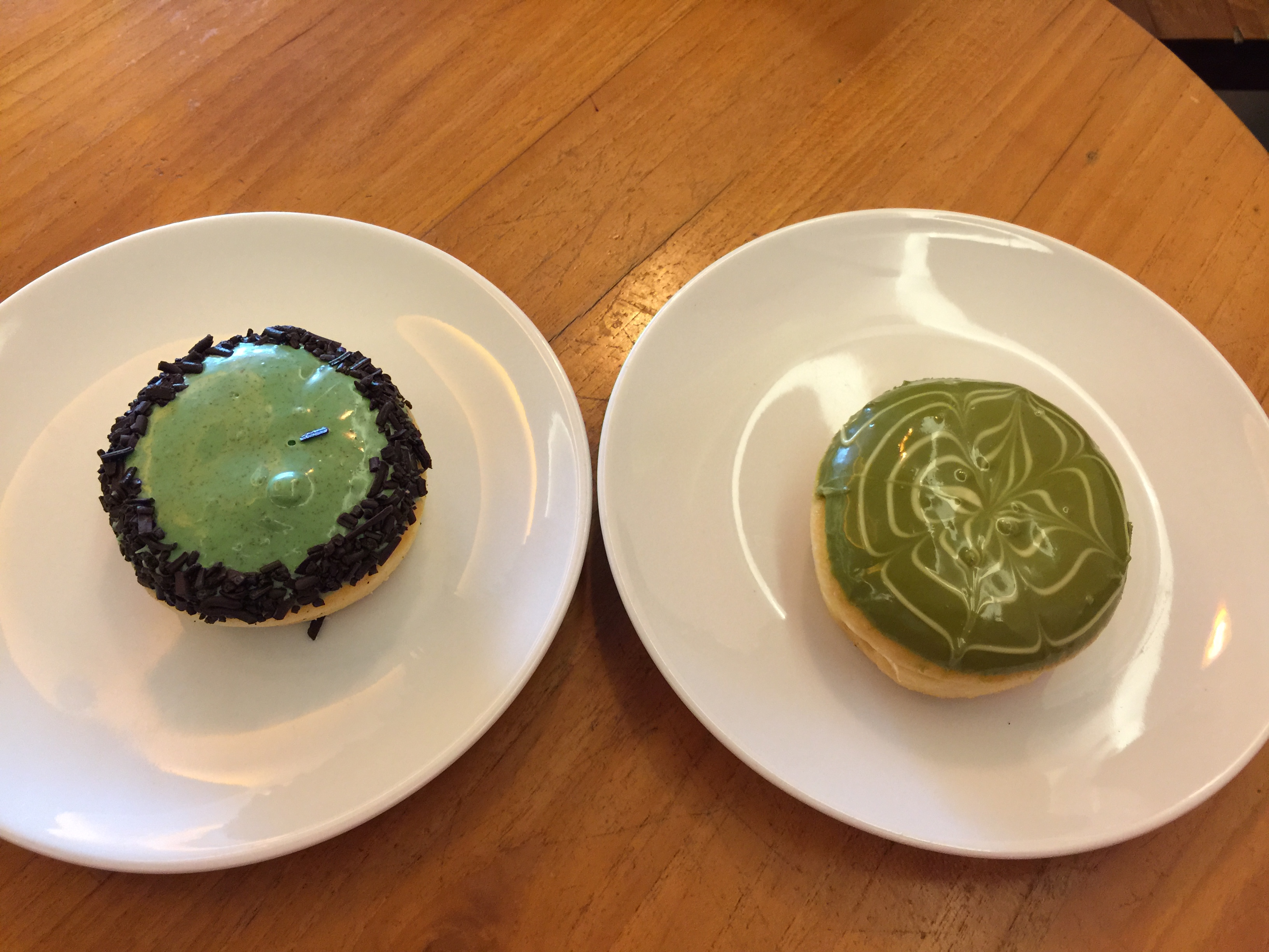 JCo Avocado flavored donuts